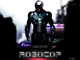 RoboCop 2014 Movie HD Desktop Background