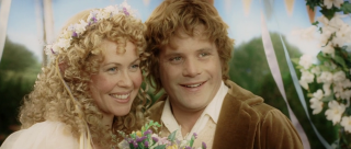 Samwise Gamgee and Rosie Cotton at their Wedding