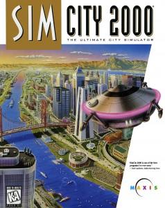 SimCity 2000 Box Cover Art
