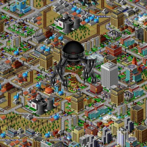 SimCity 2000 Monster Disaster