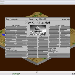 SimCity 2000 Newspaper Updates
