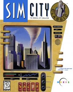 SimCity Original Box Cover Art