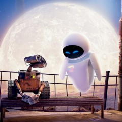 Wall-E and Eve from WALL-E