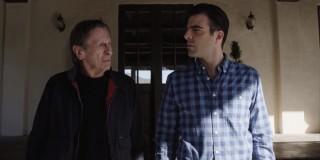 Leonard Nimoy and Zachary Quinto in Spock vs. Spock