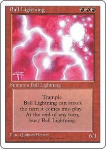 Fourth Edition Ball Lightning