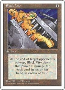 Fourth Edition Black Vise