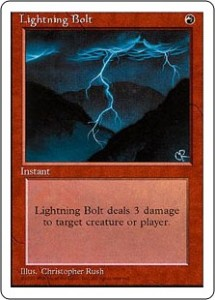 Fourth Edition Lightning Bolt