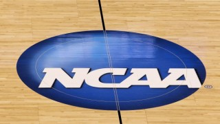 NCAA Basketball Tournament Floor