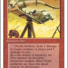 Orcish Artillery from Fourth Edition
