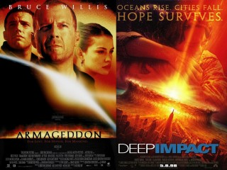 Armageddon and Deep Impact from the Summer of 1998