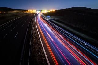 """Lightway"" a long exposure photo by Jan Berounský"