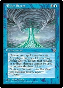 AEther Storm from Homelands