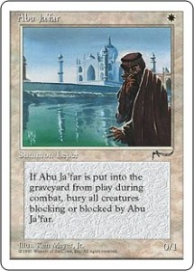 Abu Ja'far from Arabian Nights reprinted in Chronicles