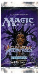 Alliances 12 card Booster Pack
