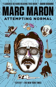 Attempting Normal by Marc Maron Paperback Cover