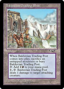 Balduvian Trading Post from Alliances