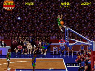 Bill Clinton had Game in NBA Jam