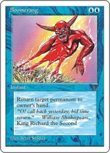 Boomerang from Legends reprinted in Chronicles