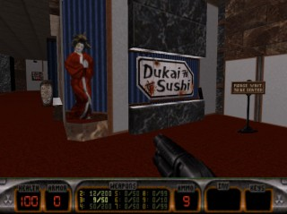 Dukai Sushi in Shrapnel City - Duke Nukem 3D