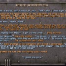 Duke Nukem 3D backstory in the Help Menu