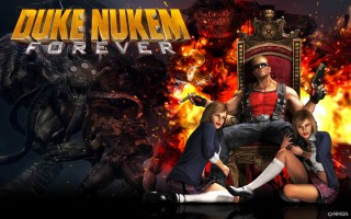 Duke Nukem Forever the long awaited Sequel to Duke Nukem 3D
