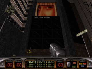 East Town Towers was 3D Realms Shot of id Software and Quake in Duke Nukem 3D