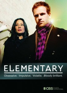 Elementary on CBS starring Jonny Lee Miller and Lucy Liu