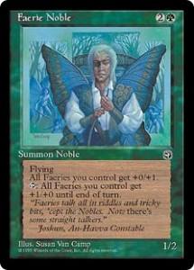 Faerie Noble from Homelands