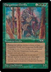 Gargantuan Gorilla from Alliances