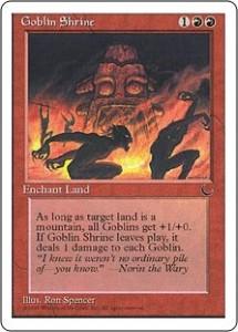 Goblin Shrine from The Dark reprinted in Chronicles