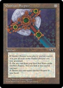 Gustha's Scepter from Alliances
