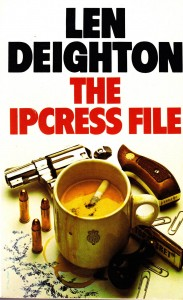 Alternate Cover for The IPCRESS File by Len Deighton