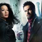 Jonny Lee Miller as Sherlock Holmes and Lucy Liu as Dr Joan Watson