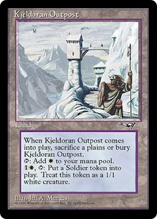 Kjeldoran Outpost from Alliances