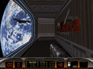 Lunar Apocalypse at Polaris Outpost - Duke Nukem 3D