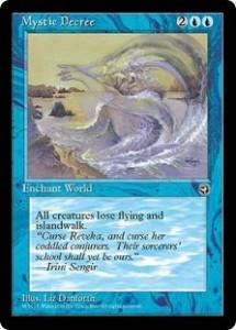 Mystic Decree from Homelands