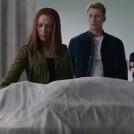 Natasha, Steve, and Maria Morning the Death of Col Nick Fury