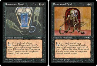 Both Versions of Phantasmal Fiends from Alliances