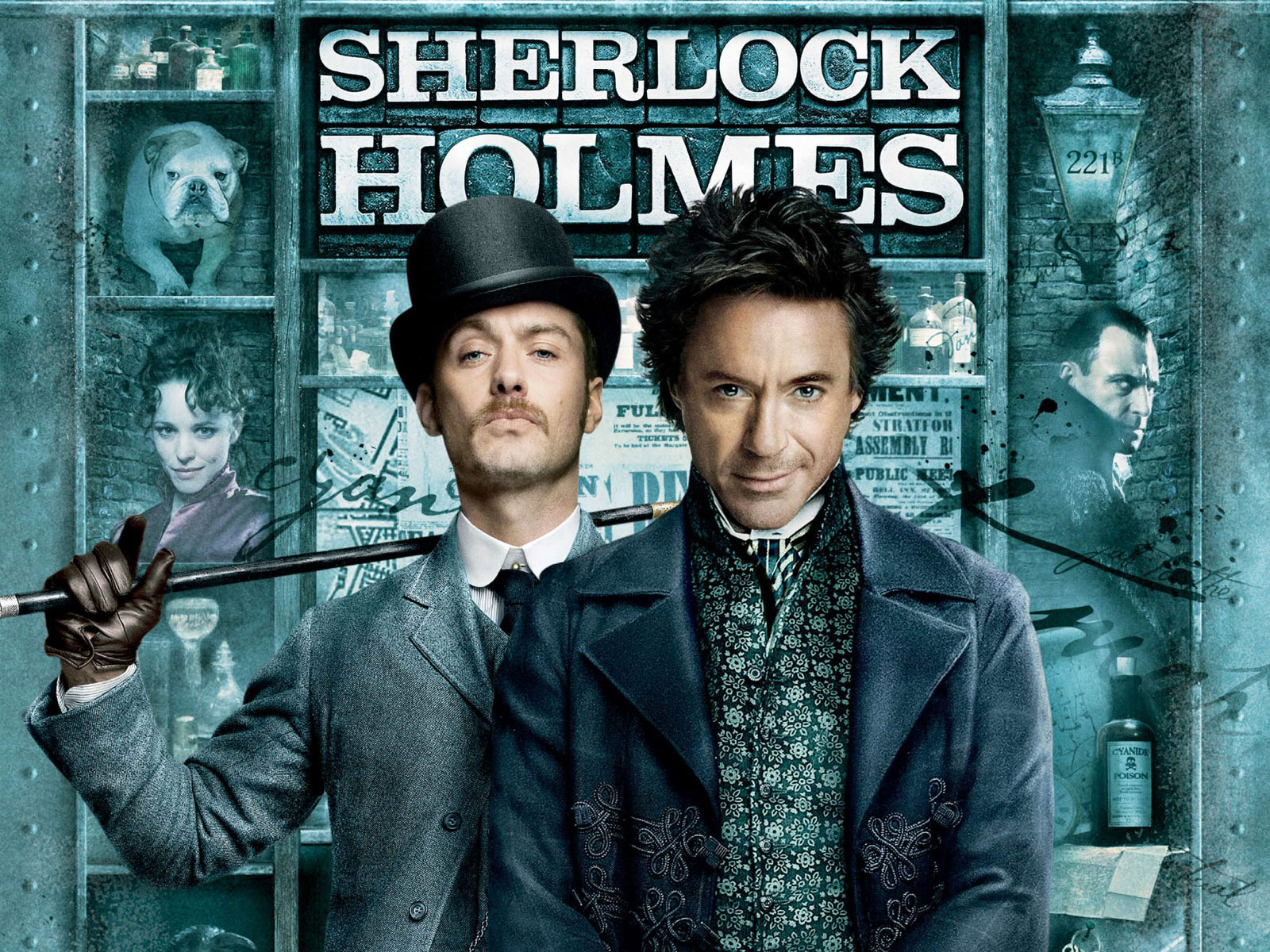 Sherlock Holmes Resurgence in Mainstream Media is Here to Stay.