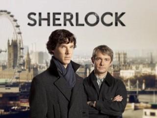 BBC's Sherlock starring Benedict Cumberbatch and Martin Freeman