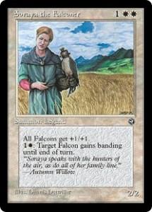 Soraya the Falconer from Homelands