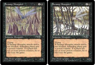 Both Versions of Swamp Mosquito from Alliances