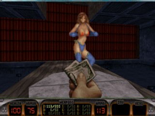 There are a lot of Strippers in Duke Nukem 3D