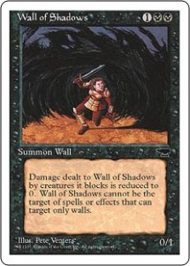 Wall of Shadows from Antiquities reprinted in Chronicles