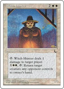 Witch Hunter from The Dark reprinted in Chronicles
