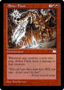 AEther Flash from Weatherlight