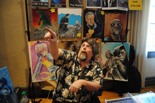 Artist Primo Carinalli at 2014 Lehigh Valley Fan Festival