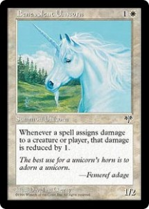Benevolent Unicorn from Mirage