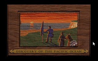 Discovery of the Pacific Ocean in Colonization