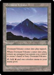 Dormant Volcano from Visions